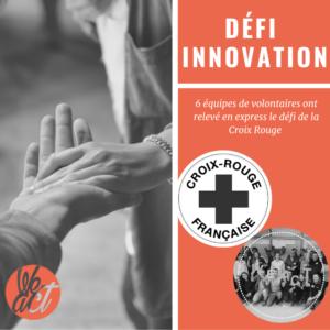 Illustration défi innovation express Croix Rouge et WeAct